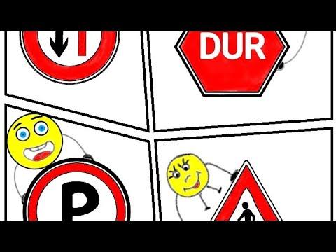 Nasılçizilir Kolayçizim Trafik Işaretleri Ve Anlamları Trafik
