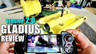 Gladius V2 Underwater ROV Review - Part 1 - [Unboxing, Inspection, Setup, Updating, Pros & Cons]