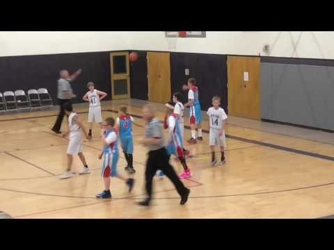 John Cronk Weld Central Middle School 7th grade boys basketball