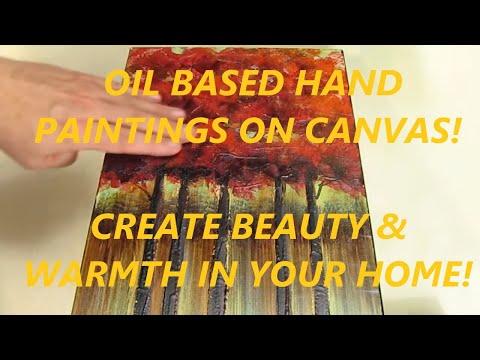 Asmork Southwest Art Modern Art Oil Paintings Available on Amazon.com