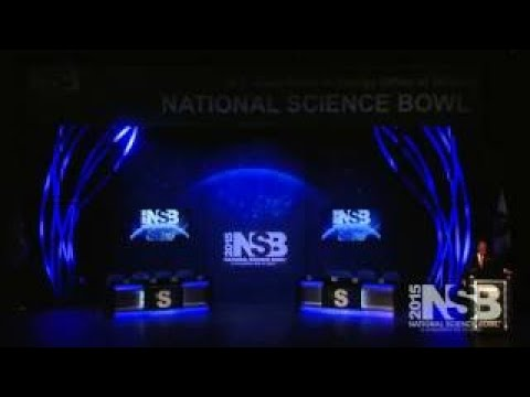 2017 National Science Bowl Middle School Championship Match