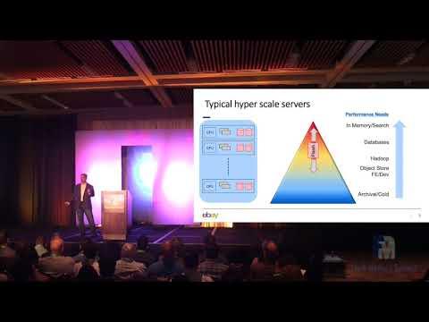 Mellanox and eBay Flash Memory Summit 2017 Keynote