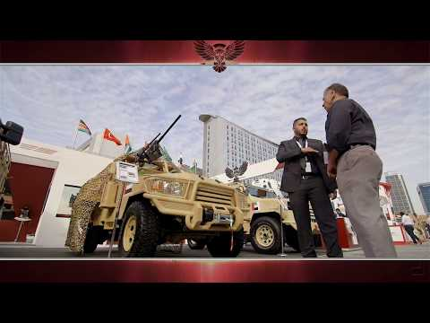 MSPV in IDEX Defence Exhibition 2017 in Abu Dhabi, UAE