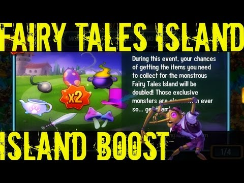 Monster Legends | Island Boost Explanation | How does Island Boost Work?!