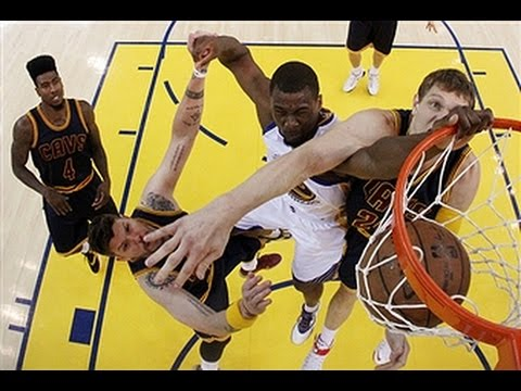 2015 NBA Finals: Top 10 Dunks