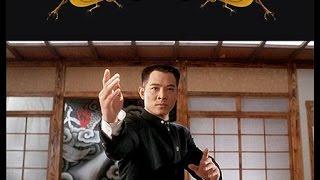 Джет Ли против японских мастеров каратэ(Джет Ли раскидал