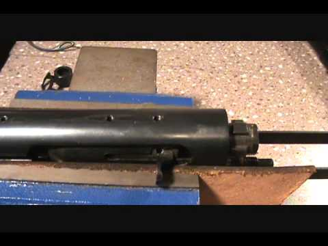 Remington 7400/742 barrel and bolt assembly removal