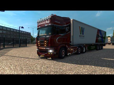 ETS2!!! []Van Hannover naar Dresden!!! []Met eigen auto voor Terpstra Transport van Terschelling!!!