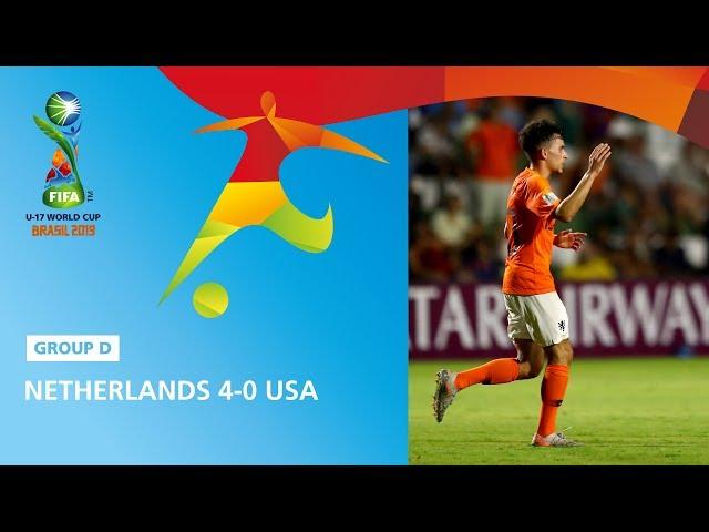 Netherlands v USA Highlights - FIFA U17 World Cup 2019 ™