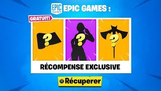 "PLAYERS ""SAUVER THE WORLD"" ARE THIS FREE RECOMPENSE on FORTNITE Battle Royal!"