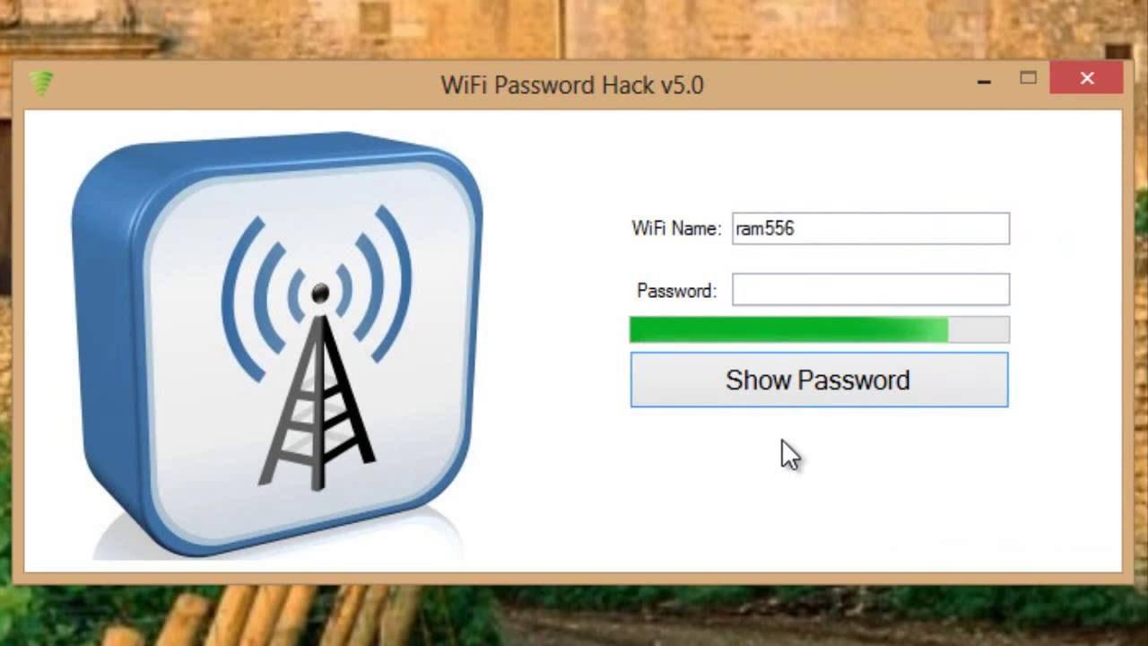 wifi password hack v5 pour pc
