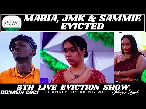 Download BBNAIJA 2021: MARIA EVICTED 😱   5TH LIVE EVICTION SHOW   FRANKLY SPEAKING WITH GLORY ELIJAH   FSWG