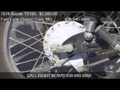 1974 Suzuki TS185 for sale in St  Charles, MO 63301 at the