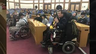 한국장애인자립생활센터총연맹 창립 제1주년 기념 세미나 …