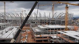 Arena MRV - 21/10/2021 - 2/ MOVIMENTO AUMENTOU BEM /ANDAIMES.