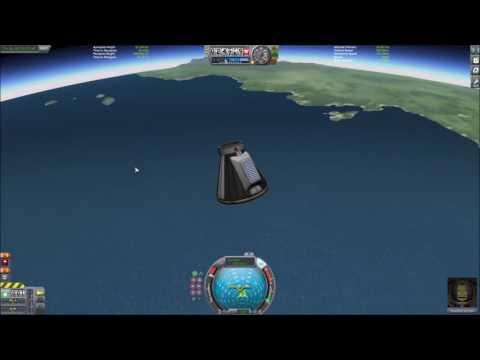 Jebediah First sub orbital spaceflight