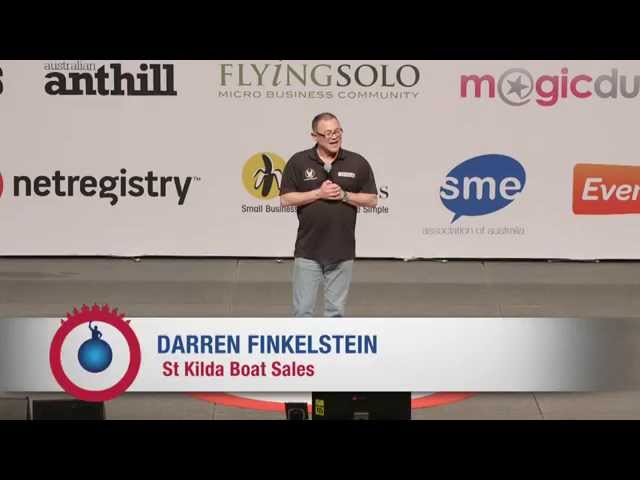 Award winning author, Darren Finkelstein, achieves 100% strike rate in his business
