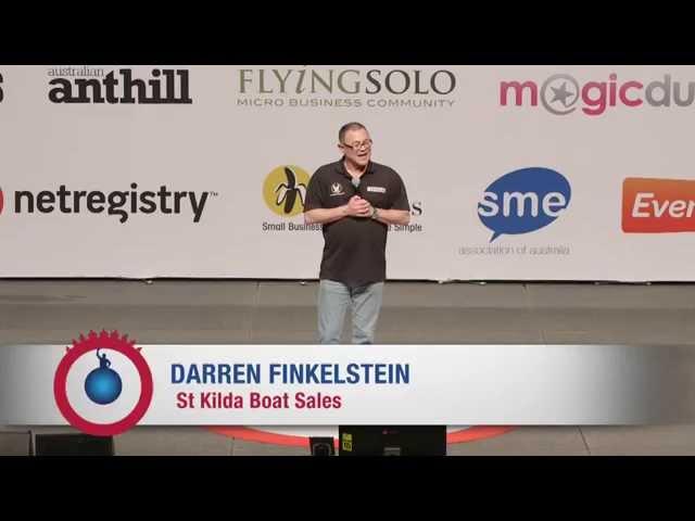 Award winning author, Darren Finkelstein, achieves 100% strike rate in his business
