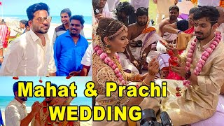 Actor Mahat Mishra Prachi Wedding Video | Simbhu | Mahat - Filmibeat Tamil
