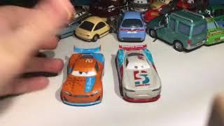 Disney Pixar Cars 3 Paul Convev diecast review
