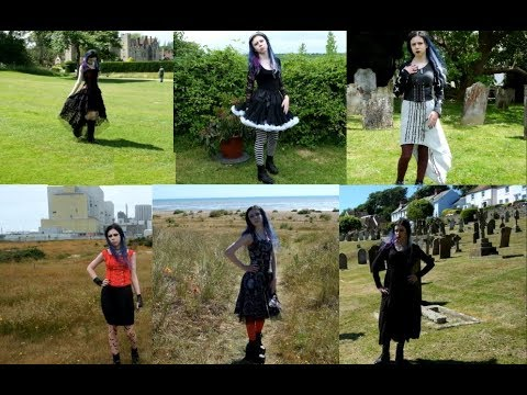 [VIDEO] - Summer Goth- 9 Outfit Lookbook 2018 3