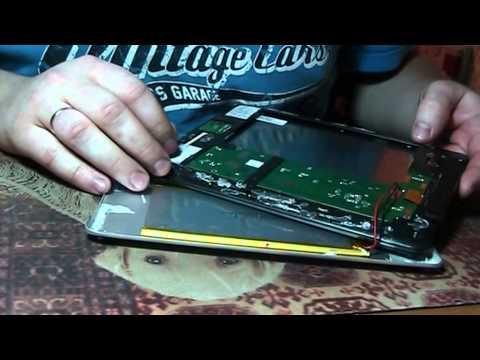 Разборка планшета texet TM-8041HD 8гб