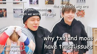 Why TXT and MOAs have trust issues with each other