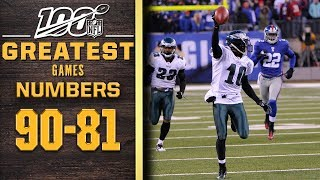 100 Greatest Games: Numbers 90-81 | NFL 100