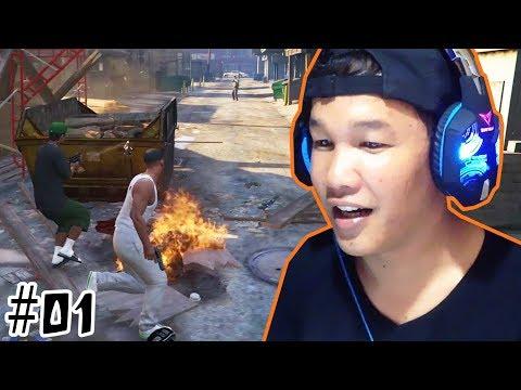 បេសកម្មទីមួយ GTA5 Story Mode Khmer Gamer VPROGAME