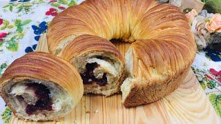 Бесподобный хлеб Моток пряжи с сушёной клюквой