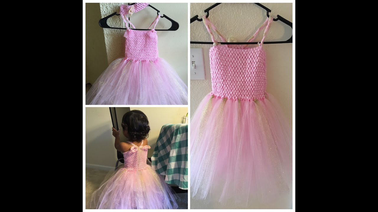 How to make a tutu dress diy youtube how to make a tutu dress diy solutioingenieria Images