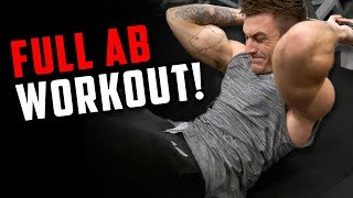 Six Pack Abs Workout Using Cable Machines for Ripped Abs