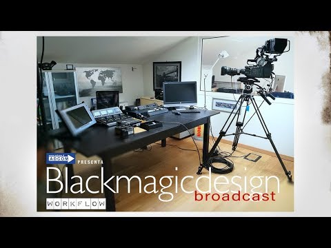 Blackmagic Design ATEM & Ursa Broadcast WORKFLOW