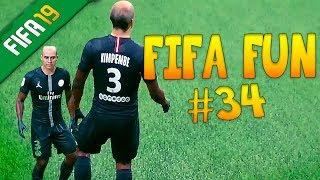 Fifa 19 Funny Fails #34 - Kimpembe's New Face!