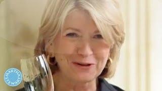 Popping Bottles with Martha Stewart: It