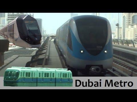 Dubai Metro, Tram & Monorail!