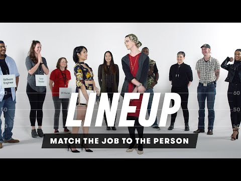 Match the Job to the Person   Lineup   Cut