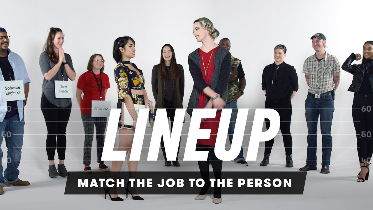 match the job to the person lineup cut youtube