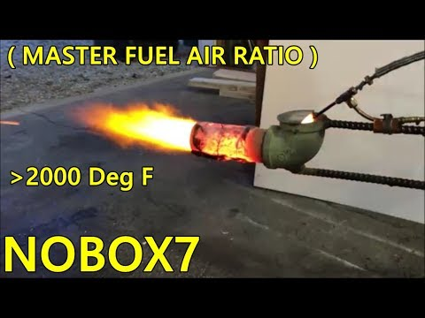 Waste oil burner ( Air fuel ratio ) ?
