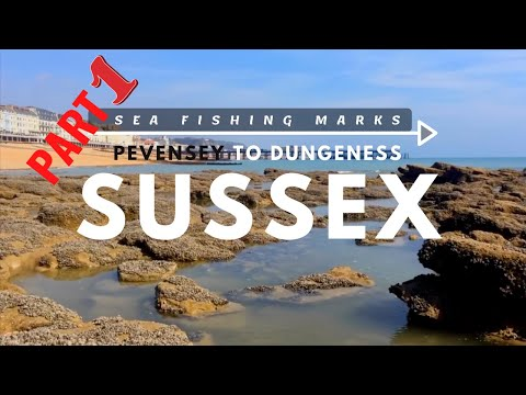 Part 1/2. Sea Fishing Marks- Pevensey to Dungeness