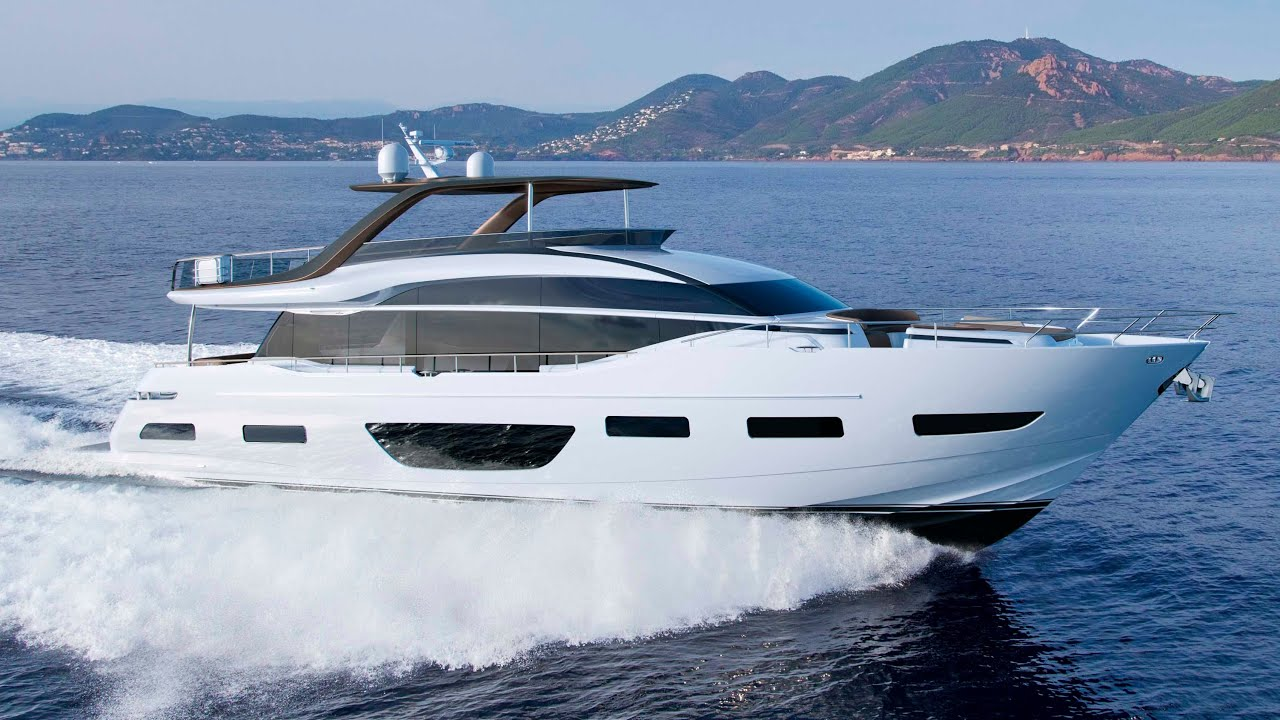 New Yacht In Stock Princess Y85 502 For Sale Princess Yachts Monaco