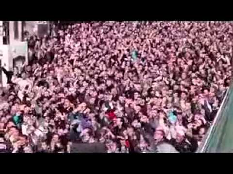 (02-04-2012) Khaledyeh | Homs | A massive procession for martyrs of Assad regime last massacre