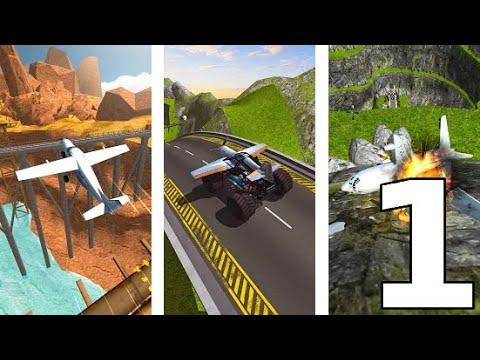 Crazy Plane Landing #1 (by PixelMob) - Android Game