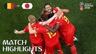 Video Belgium v Japan - 2018 FIFA World Cup Russia™ - Match 54 download MP3, 3GP, MP4, WEBM, AVI, FLV September 2018