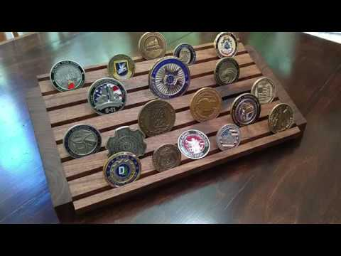 How I Made a Walnut Coin Display