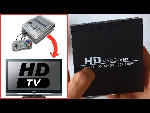 HD Video Converter : Convertisseur Peritel vers HDMI et Console retro en HD !
