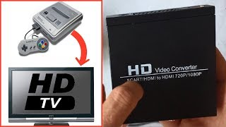 HD Video Converter : Convertisseur Peritel vers HDMI et Console retro en HD !