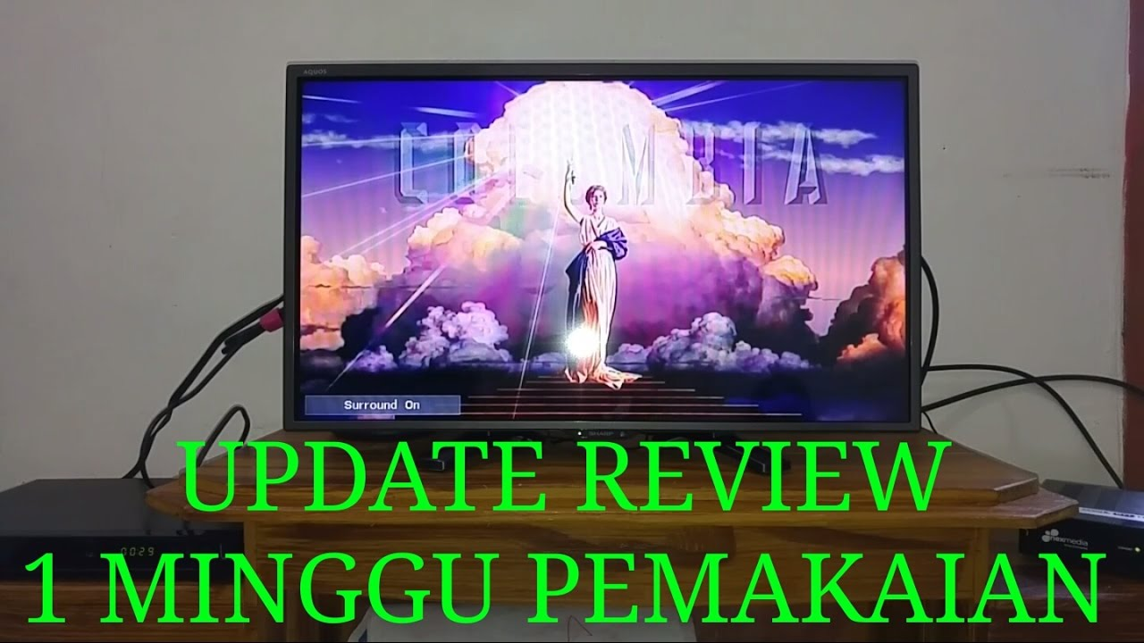 Update Review Led Sharp 24 Inch Type Le170 Youtube