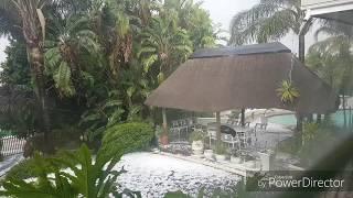 freak hail storm hits jhb  it was a tornado in krugersdorp? hail as big as golf balls