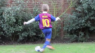 MESSI STEP OVER - Kids Football Skills